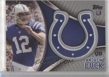 2012 Topps - Team Logo Patch #TLP-AP - Andrew Luck