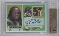 Trent Richardson [BGS 9.5 GEM MINT] #/10