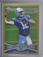 Andrew Luck [Good to VG‑EX] #/50