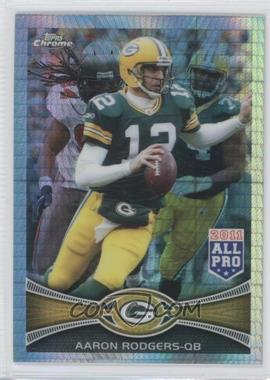 2012 Topps Chrome - [Base] - Prism Refractor #50 - Aaron Rodgers /216