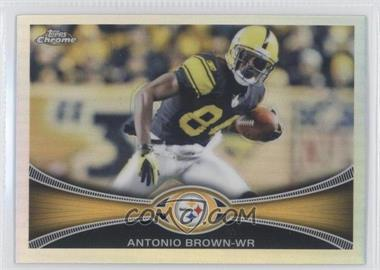 2012 Topps Chrome - [Base] - Refractor #106 - Antonio Brown