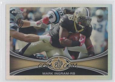 2012 Topps Chrome - [Base] - Refractor #171 - Mark Ingram