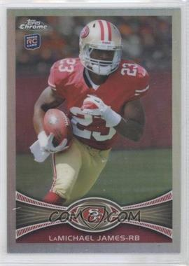 2012 Topps Chrome - [Base] - Refractor #191 - LaMichael James