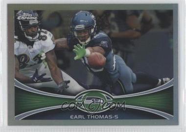 2012 Topps Chrome - [Base] - Refractor #201 - Earl Thomas