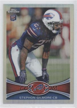 2012 Topps Chrome - [Base] - Refractor #26 - Stephon Gilmore