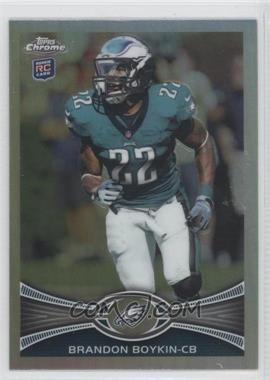 2012 Topps Chrome - [Base] - Refractor #36 - Brandon Boykin