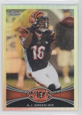 2012 Topps Chrome - [Base] - Refractor #85 - A.J. Green