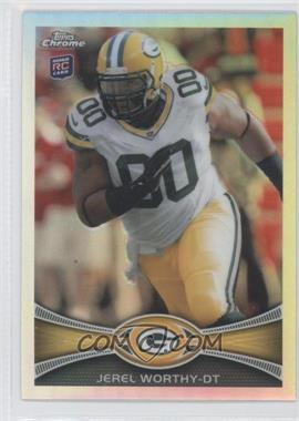 2012 Topps Chrome - [Base] - Refractor #93 - Jerel Worthy