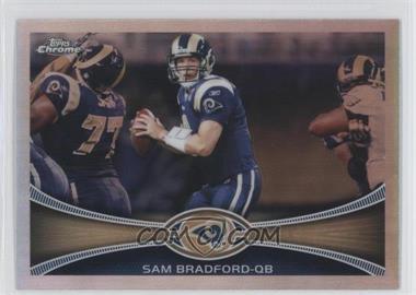 2012 Topps Chrome - [Base] - Refractor #95 - Sam Bradford