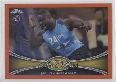 2012 Topps Chrome - [Base] - Retail Orange Refractor #148 - Melvin Ingram
