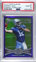 Andrew Luck [PSA 10 GEM MT] #/499
