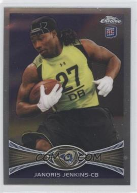 2012 Topps Chrome - [Base] #128 - Janoris Jenkins