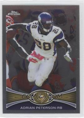 2012 Topps Chrome - [Base] #158 - Adrian Peterson