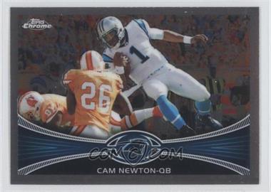 2012 Topps Chrome - [Base] #20 - Cam Newton