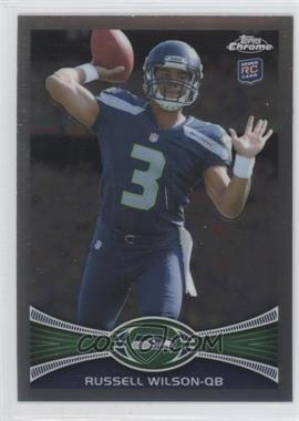 2012 Topps Chrome - [Base] #40.1 - Russell Wilson (Throwing Hand Visible)