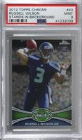 Russell Wilson (Throwing Hand Visible) [PSA9MINT]