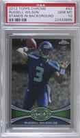 Russell Wilson (Throwing Hand Visible) [PSA 10 GEM MT]
