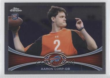 2012 Topps Chrome - [Base] #60 - Aaron Cox