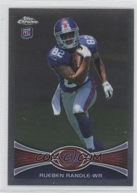 2012 Topps Chrome - [Base] #70.1 - Rueben Randle (Ball Clutched to Chest)