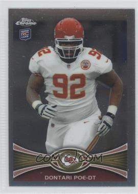 2012 Topps Chrome - [Base] #94 - Dontari Poe