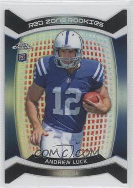 2012 Topps Chrome - Red Zone Rookies Die-Cut - Refractor #RZDC-1 - Andrew Luck