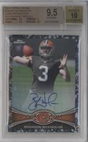 Brandon Weeden [BGS 9.5 GEM MINT] #/105