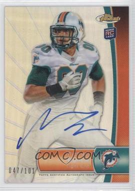 2012 Topps Finest - [Base] - Refractor Rookie Autograph [Autographed] #146 - Michael Egnew /101