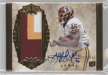 2012 Topps Five Star - [Base] - Gold Jumbo Patch Autographs #176 - Alfred Morris /55