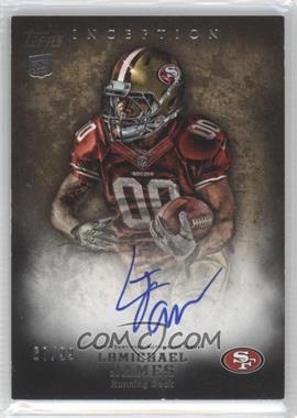 2012 Topps Inception - [Base] - Gold #118 - LaMichael James /99
