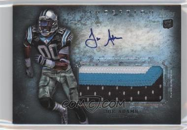2012 Topps Inception - Rookie Autographed Jumbo Patch - [Autographed] #AJP-JA - Joe Adams