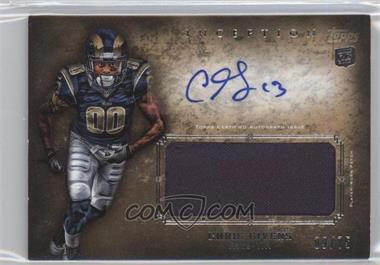2012 Topps Inception - Rookie Autographed Jumbo Patch - Gold [Autographed] #AJP-CGI - Chris Givens /75