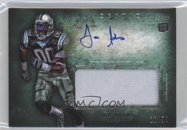 2012 Topps Inception - Rookie Autographed Jumbo Patch - Green Patch [Autographed] #AJP-JA - Joe Adams /50