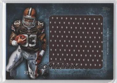2012 Topps Inception - Rookie Jumbo Relics - Blue #JR-TR - Trent Richardson /75