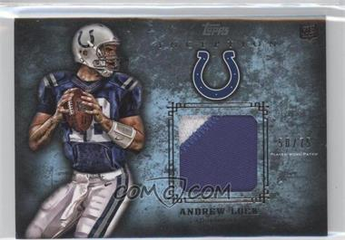 2012 Topps Inception - Rookie Patch Relics - Blue #RP-AL - Andrew Luck /75