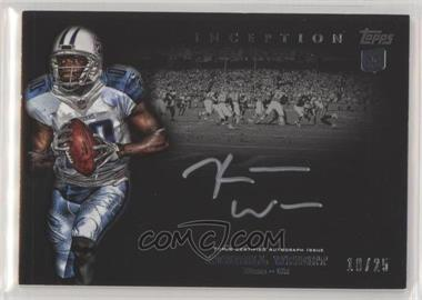 2012 Topps Inception - Rookie Silver Signings - [Autographed] #SS-KW - Kendall Wright /25