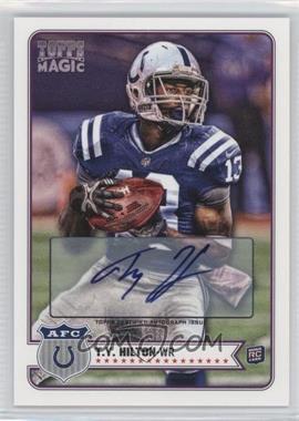 2012 Topps Magic - [Base] - Autograph [Autographed] #215 - T.Y. Hilton