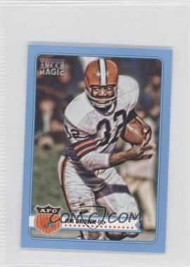 2012 Topps Magic - [Base] - Mini Blue #217 - Jim Brown