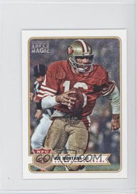 2012 Topps Magic - [Base] - Mini #72 - Joe Montana