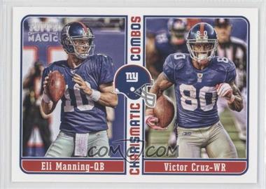 2012 Topps Magic - Charismatic Combos #CC-MC - Eli Manning, Victor Cruz