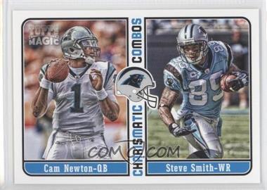 2012 Topps Magic - Charismatic Combos #CC-NS - Cam Newton, Steve Smith, Steve Smith