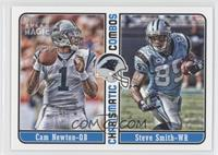 Cam Newton, Steve Smith, Steve Smith