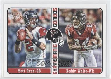 2012 Topps Magic - Charismatic Combos #CC-RW - Matt Ryan, Roddy White