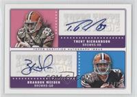 Trent Richardson, Brandon Weeden #/25