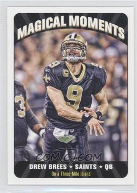 2012 Topps Magic - Magical Moments #MM-DB - Drew Brees
