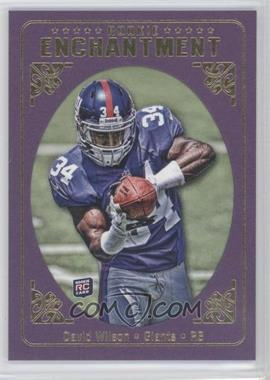 2012 Topps Magic - Rookie Enchantment #RE-DW - David Wilson