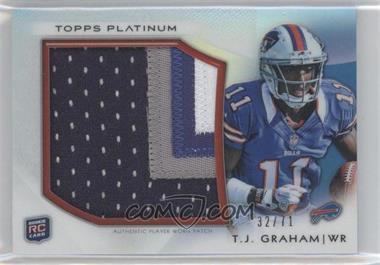 2012 Topps Platinum - Rookie Patch #PRP-TG - T.J. Graham /71