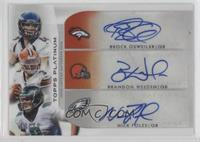 Brock Osweiler, Brandon Weeden, Nick Foles #/10