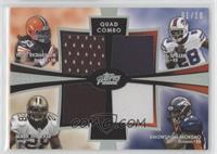 Trent Richardson, Mark Ingram, C.J. Spiller, Knowshon Moreno /10