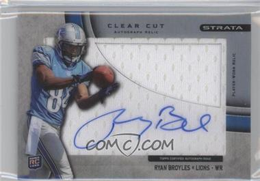 2012 Topps Strata - Clear Cut Autograph Rookie Relics - [Autographed] #CCAR-RB - Ryan Broyles