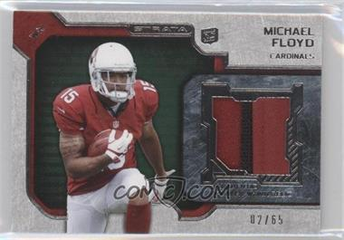 2012 Topps Strata - Rookie Relics - Green #RR-MF - Michael Floyd /65